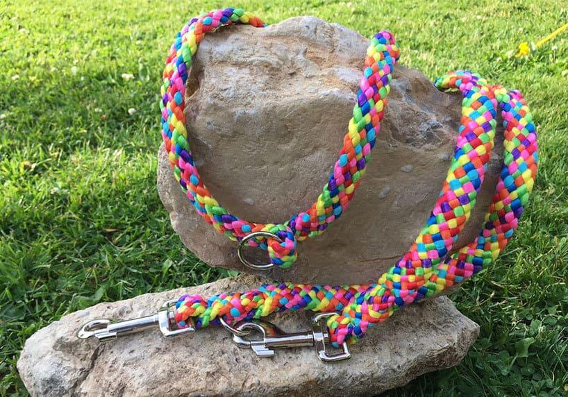 Gaja Handmade Goods - handgefertigte Hundeleinen